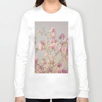 magnolia Long Sleeve T-shirts featuring Magnolia  by Pure Nature Photos