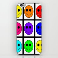 popart iPhone & iPod Skins featuring Popart Vampire  by Strejfer