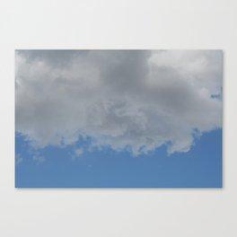 Underside of Clouds Canvas Print