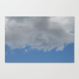 Underside of Clouds Canvas Print