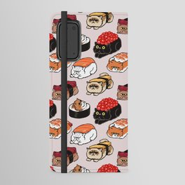 Sushi Persian Cat Android Wallet Case