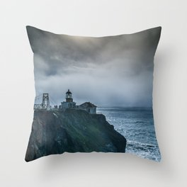 Light in the Storm Throw Pillow