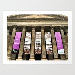 State Library Victoria Art Print