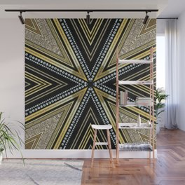 Glam Cross Star Wall Mural