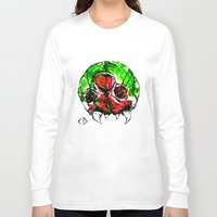 metroid Long Sleeve T-shirts featuring Metroid by CJ Draden