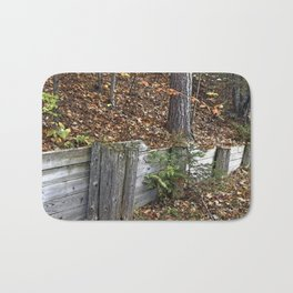 Wood Wall Bath Mat
