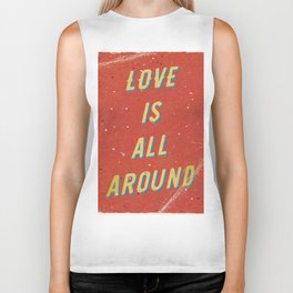 Love is all around - A Hell Songbook Edition Biker Tank
