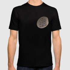 eyes which shine Mens Fitted Tee Black MEDIUM