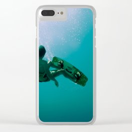 Kite surfing I Clear iPhone Case