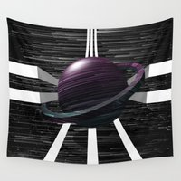saturn Wall Tapestries featuring Saturn by Isaak_Rodriguez