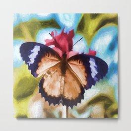 Beautiful Monarch Butterfly Metal Print