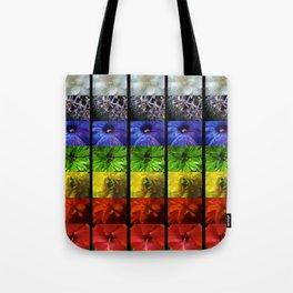 chakra flowers Tote Bag