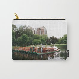 Swan Boats  Carry-All Pouch
