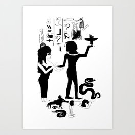 Egyptian Art Print