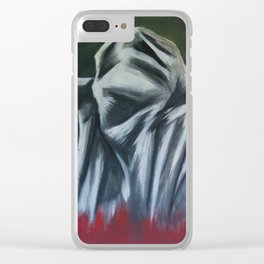 Befleckt Clear iPhone Case