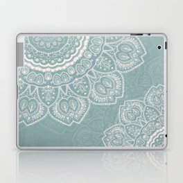 Mandala of Blue Dreams Laptop & iPad Skin