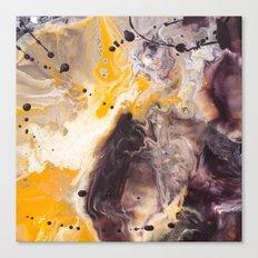 Color Commentary #16: Purple/Maroon & Golden Yellow [Herman de Waal] Canvas Print