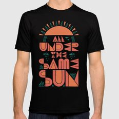 All Under the Same Sun Mens Fitted Tee LARGE Black
