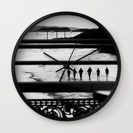 Beach life. Wall Clock