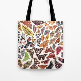 Saturniid Moths of North America Tote Bag