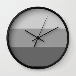 5 Shades of Grey Wall Clock