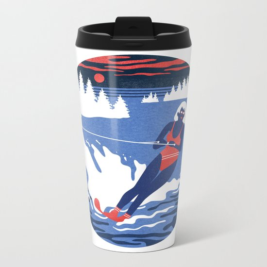 Camp Grindlestone Metal Travel Mug
