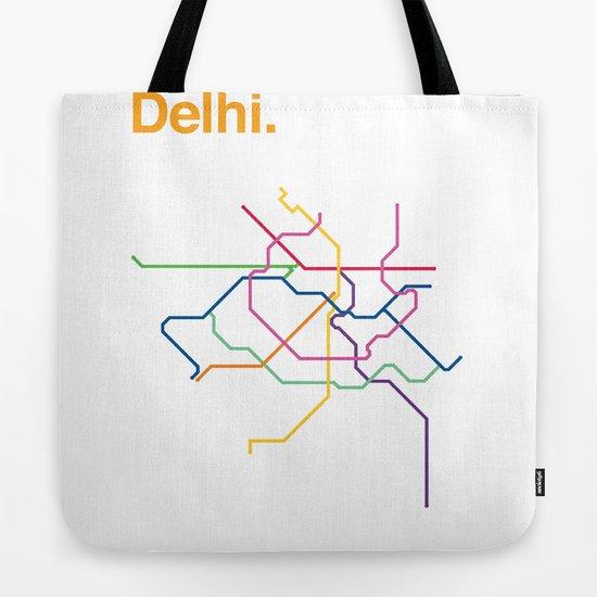 Dehli Transit Map by arielwilson