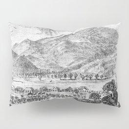 Mount Saint Helena A La California (1873) Pillow Sham
