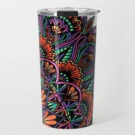 Corner Mandala Travel Mug