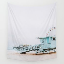 santa monica, california Wall Tapestry