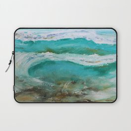 Abstract Waves Laptop Sleeve