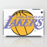 lakers iPad Cases featuring Lakers by Dexter Gornez