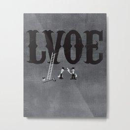 LVOE Metal Print