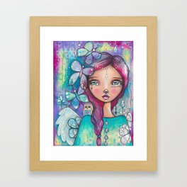 You Have Wings Framed Art Print