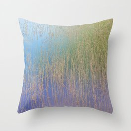 Nature background Throw Pillow