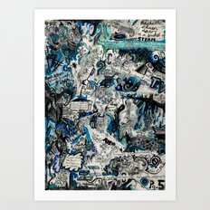 Blueprint Art Print