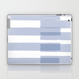 Big Stripes in Light Blue Laptop & iPad Skin