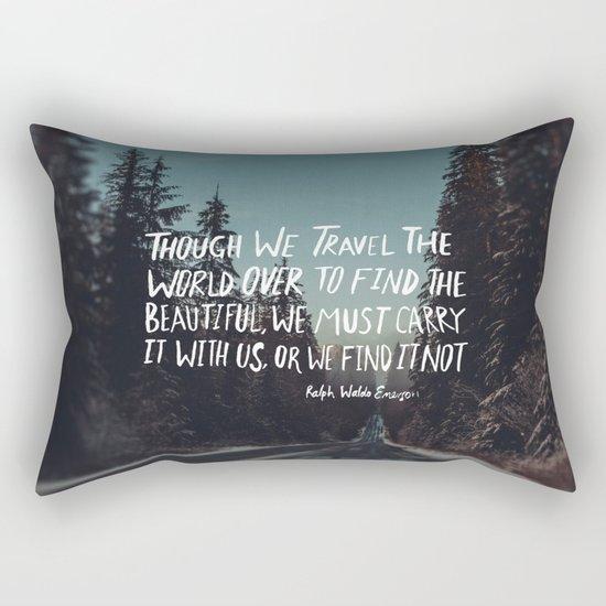Road Trip Emerson Rectangular Pillow