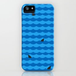Ocean of Sharks iPhone Case