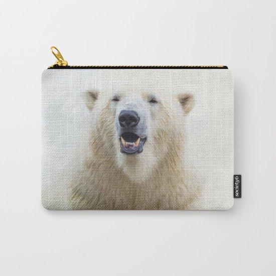 Cute  Zoo Polar Bear Carry-All Pouch