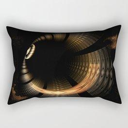 Fractal Solar Eclipse Rectangular Pillow