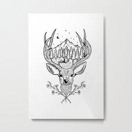 Camping Life Metal Print