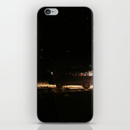 WE WENT TO THE SPACE iPhone Skin