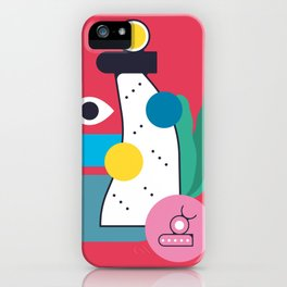 Barcelona magica iPhone Case