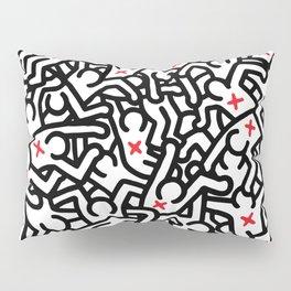 Keith Haring Variation #33 Pillow Sham