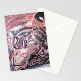 """""""Le Tigre Violet"""" :: The Purple Tiger Stationery Cards"""
