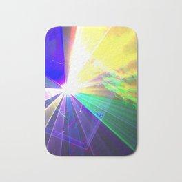 Coloured laser Bath Mat