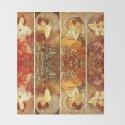"Alphonse Mucha ""The Gem Series - Ruby, Amethyst, Emerald, Topaz"" by alexandra_arts"
