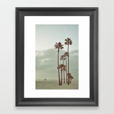 Morning Vacancy Framed Art Print