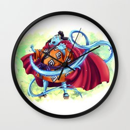 Jinbei - Knight of the Sea Wall Clock